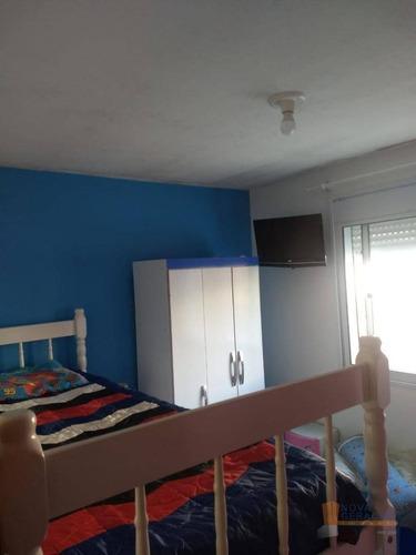 Apartamento Com 2 Dormitórios À Venda, 41 M² Por R$ 106.000,00 - Santa Fé - Caxias Do Sul/rs - Ap0581