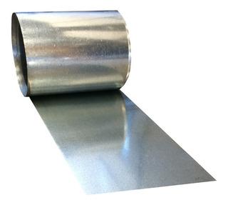 Chapa Zincada 50 Cm X 10m P/ Artesão E Uso Diversos Em Geral