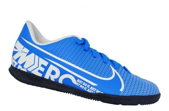 Chuteira Infantil Futsal Nike Junior Vapor 13 Club Ic Azul