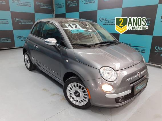 Fiat 500 1.4 Lounge Air 16v Gasolina 2p Automático