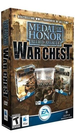 Medal Of Honor Allied Assault War Chest - Pc Dvd Frete 8 R$