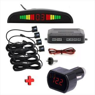 Sensor De Retroceso Automotriz + Voltimetro Dc + Envío