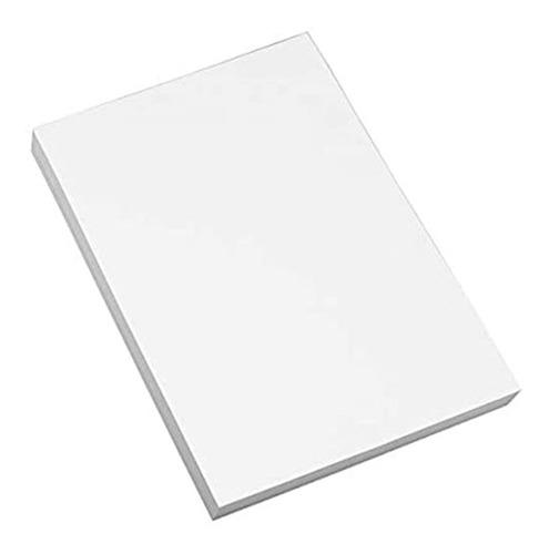 Cartulina Bristol Blanca Octavo Paquete X 100 Und
