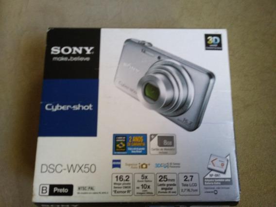 Câmera Sony Semi Profissional Wx50 16.2 Mp Lentes Carl Zeiss