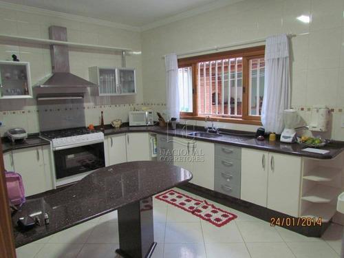 Imagem 1 de 21 de Casa À Venda, 270 M² Por R$ 850.000,00 - Vila Camilópolis - Santo André/sp - Ca3152