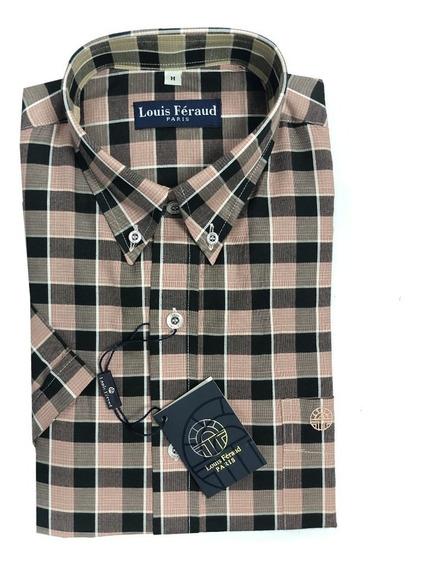 Camisas De Cuadros Louis Feraud Manga Corta 102233