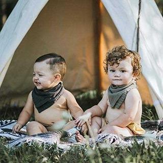 Bandanas Babero Para Bebé Babita
