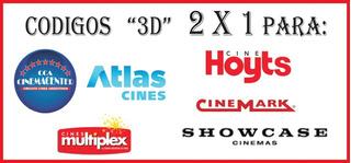 Codigo Para Cine 3d 2x1 Hoyts Multiplex Showcase