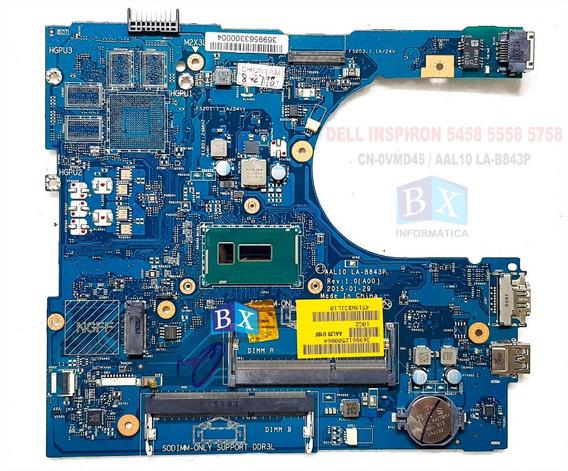 Placa Mãe Dell Inspiron 5458 5558 5758 La-b843p Core I5 Nfe
