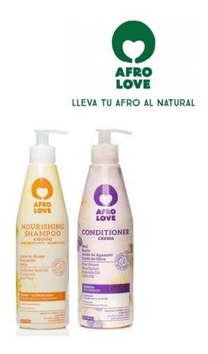 Kit Afro Love X2 Shampoo Nur. Y Acondicio - g a $63