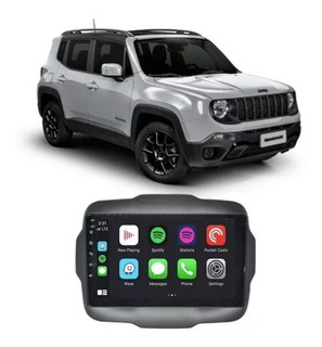 Central Multimídia Jeep Renegade Pcd 2015 A 2020 9 Polegadas
