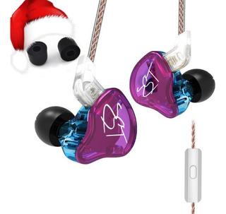 Audifonos Kz Zst/ Zs10 Pro/ Navidad Y Año Nuevo $27.99