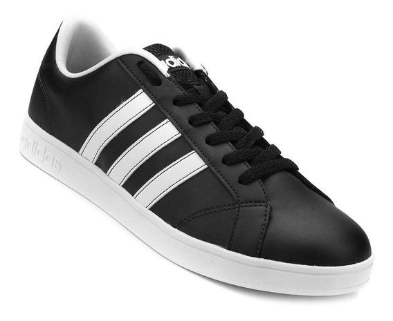 Tenis adidas Vs Advantage Preto Branco
