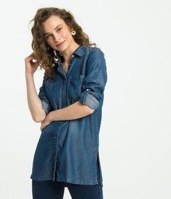 Camisão Feminio Liocel Jeans G(pequeno)