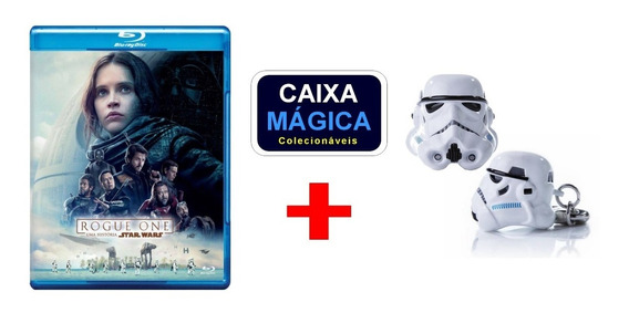 Blu-ray Rogue One Star Wars + Chaveiro Iron Studios