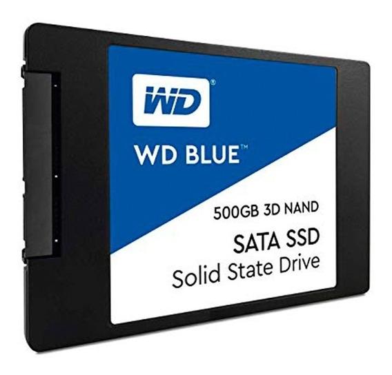 Disco Solido 500gb Wd Western Digital Ssd 2.5 Sata3 Mexx