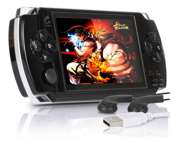 Mini Vídeo Game Portátil Retrô Emula Arcade Snes Gba E Sega