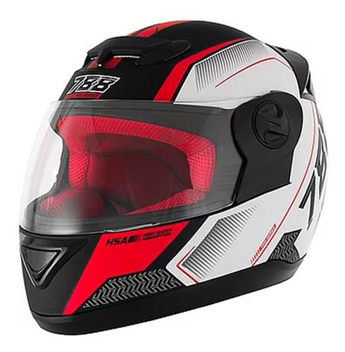 Casco Moto Evolution G6 788 Pro Series Tech Rojo T 60