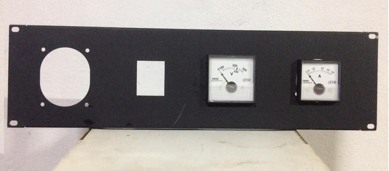 Main Power Painel Voltimetro + Amperimetro