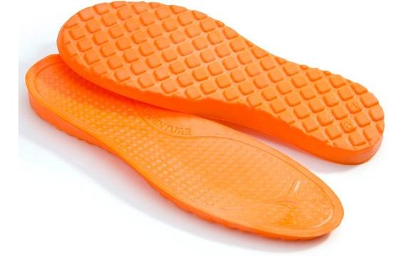 Palmilha Gel Anatômica Silicone P.u Conforto Coturno Sapato