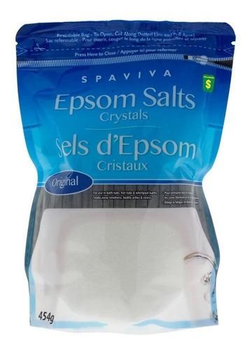 Bolsa Crtistales Sal Epsom Sulfato Magnes - g a $20