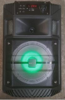 Parlante Bluetooth Con Micrófono Inalámbrico