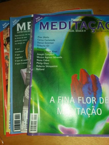 6 Revistas Planeta Meditação Guia Prático * F3