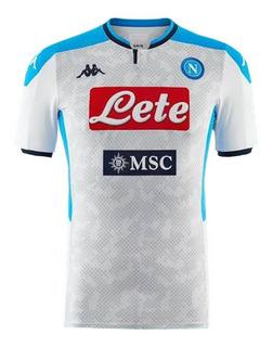 Camisa Nova Do Napoli Itália Masculino - Desconto Imperdível