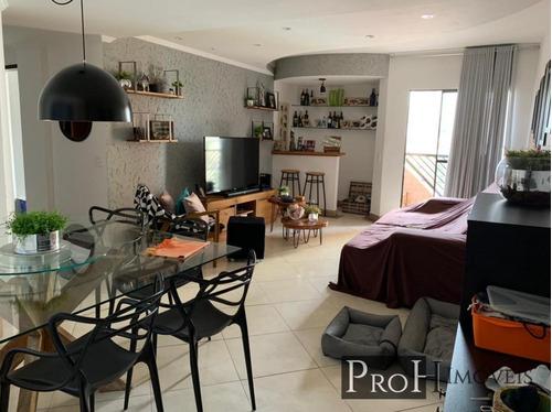 Imagem 1 de 15 de Apartamento Para Venda Em São Bernardo Do Campo, Nova Petrópolis, 3 Dormitórios, 1 Suíte, 3 Banheiros, 2 Vagas - Novpetron