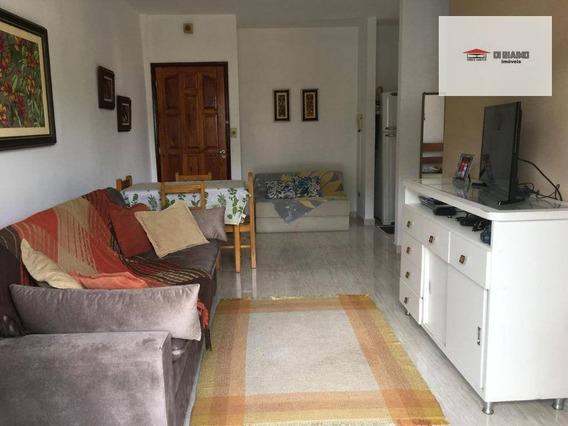 Apartamento Com 1 Dormitório Para Alugar, 50 M² Por R$ 1.200/ano - Centro - Caraguatatuba/sp - Ap0256