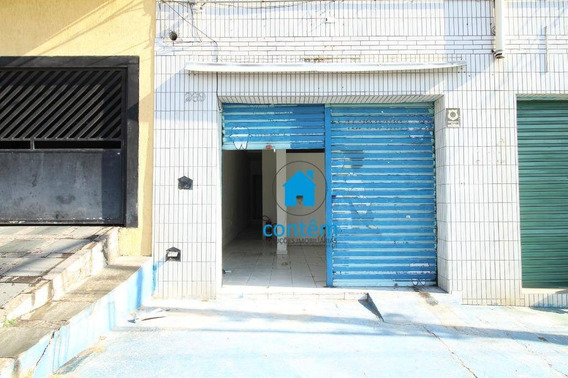 Sl0035 - Salão Para Alugar, 140 M² Por R$ 1.600/mês - Cipava - Osasco/sp - Sl0035