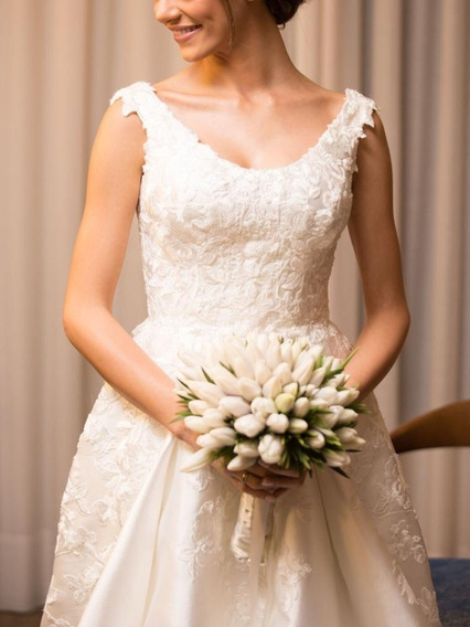 Vestido De Noiva Princesa Off White Italiano