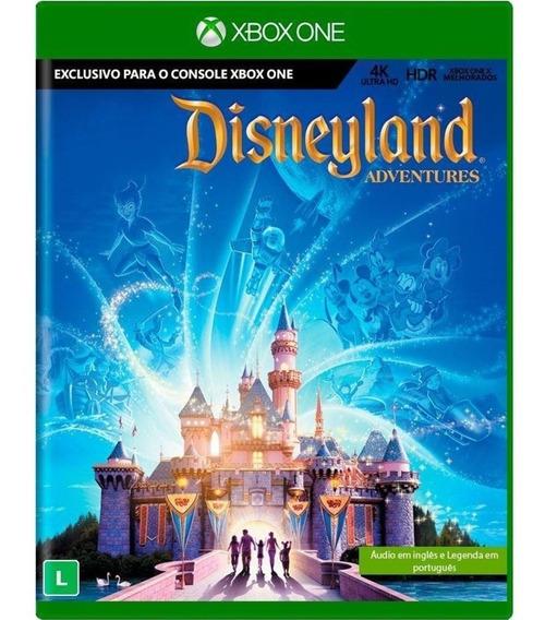 Jogo Novo Midia Fisica Disneyland Adventures Para Xbox One