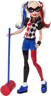 Dc Super Hero Girls Harley Quinn Muñeca De Acción Mattel
