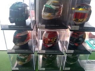 Colección Cascos F1, Sin Fasiculo