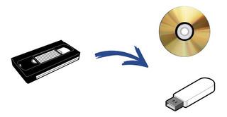 Pasaje Conversion De Videos Vhs A Dvd O Pendrive En Mendoza