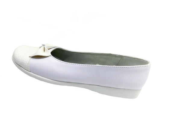 Calzado Zapato Niña Blanco. Art. 03