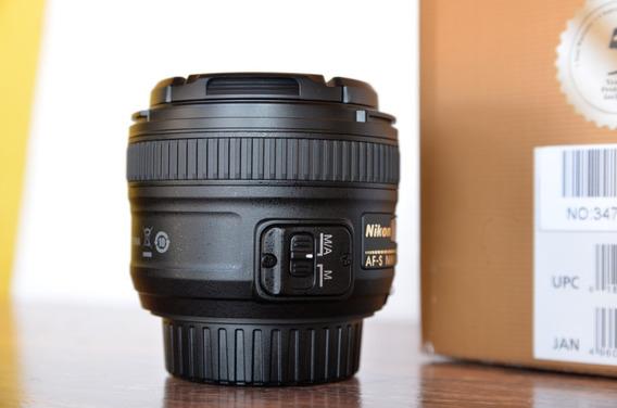 Lente Nikon Af-s Dx 50mm F/1.8g