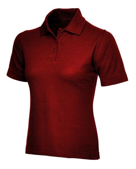 4 Camisas Gola Polo Babylook Bordada Uniforme Personalizada