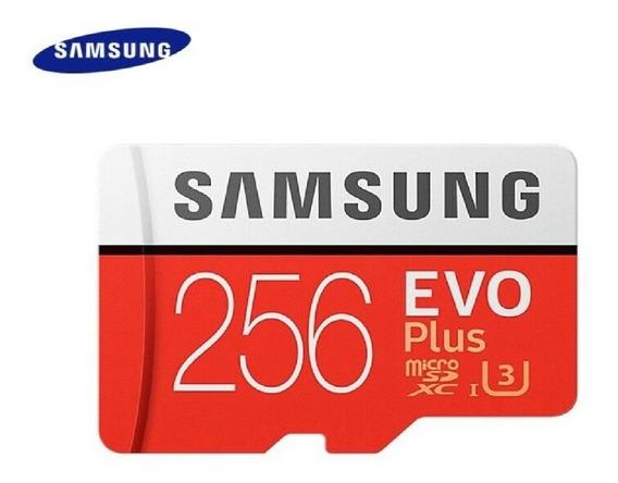 Cartão De Memoria Sd Samsung 256gb Evo