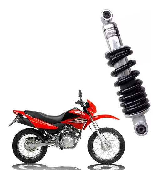 Amortecedor Moto Bros Nx/nxr 125/150 Cromado Far Rafaela