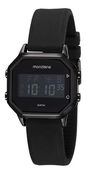 Relógio Mondaine Digital 53963gpmvpi2 Unissex Preto