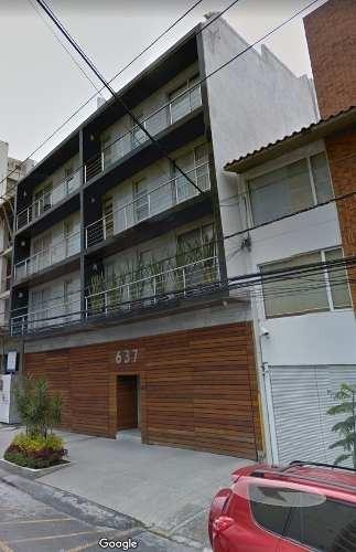 Departamento En Renta En La Col. Del Valle