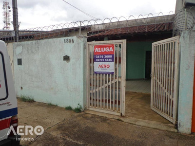 Casa Com 2 Dormitórios Para Alugar, 65 M² Por R$ 750/mês - Ca1392