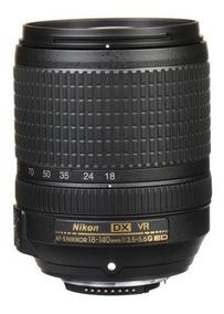 Lente Nikon Af-s Dx Nikkor 18-140mm F/3.5-5.6g Ed Vr Novo