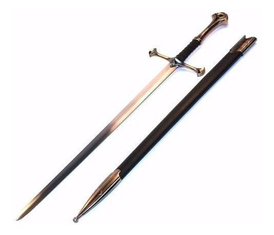 Espada Caballero Cruzado Real Metal Filo