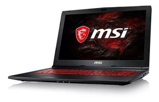 Notebook Gamer Msi Gf63 9rcx Intel I5-9300h Gtx 1050 8g 512