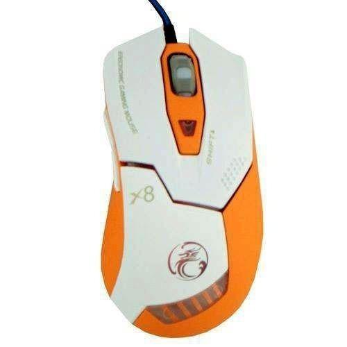 Mouse Gamer 2400dpi 6 Botões X8 Estone Asimov Frete Gratis