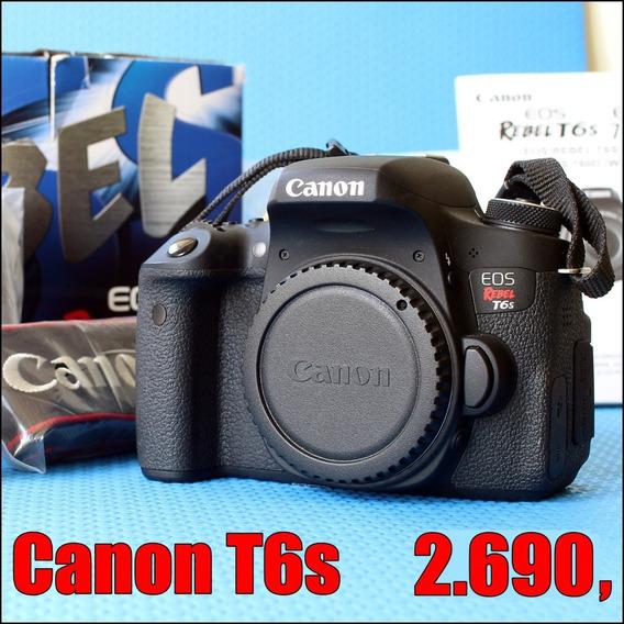Canon T6s Novíssima | Não É T6i, Nem T5i