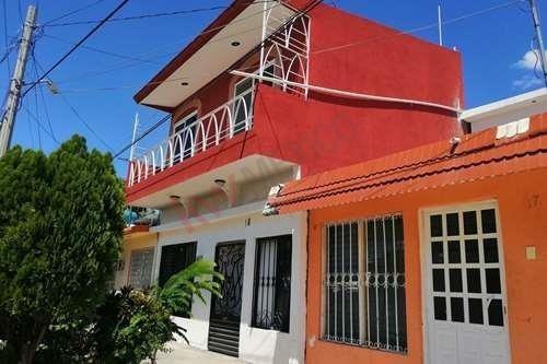 Casa En Venta En Infonavit El Rosario Con Recamara En Planta Baja